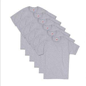 Hanes ComfortSoft Short Sleeve T-Shirt 6 Pack